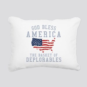 Basket of Deplorables Rectangular Canvas Pillow