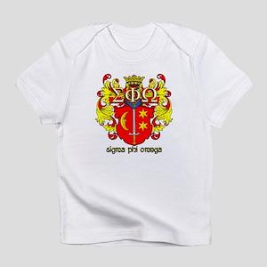 Sigma Phi Omega Crest Infant T-Shirt