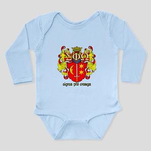 Sigma Phi Omega Crest Body Suit
