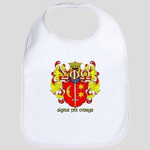 Sigma Phi Omega Crest Bib