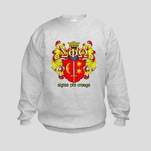 Sigma Phi Omega Crest Sweatshirt