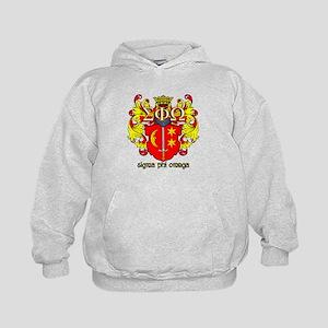 Sigma Phi Omega Crest Hoodie