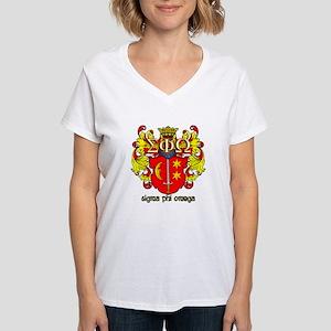 Sigma Phi Omega Crest T-Shirt