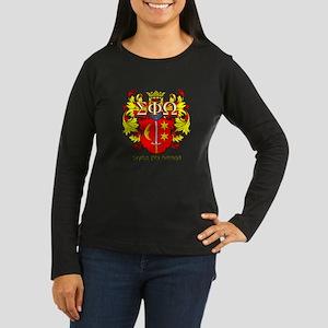 Sigma Phi Omega Crest Long Sleeve T-Shirt