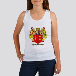Sigma Phi Omega Crest Tank Top