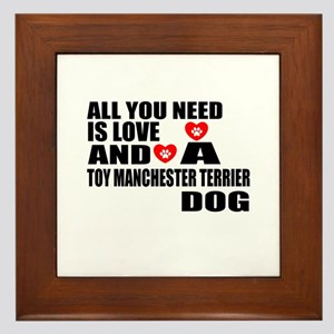 All You Need Is Love Toy Manchester Te Framed Tile