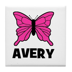Butterfly - Avery Tile Coaster