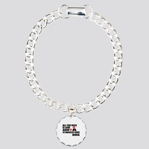 All You Need Is Love Toy Charm Bracelet, One Charm
