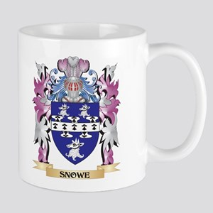 Snowe Coat of Arms - Family Crest Mugs