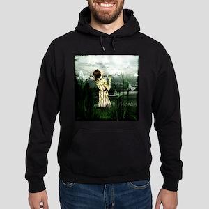 Woman With Butterflies Sweatshirt