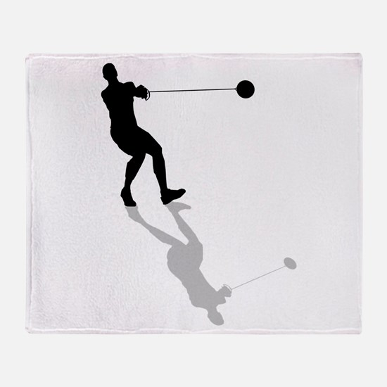 Hammer Throw Throw Blanket