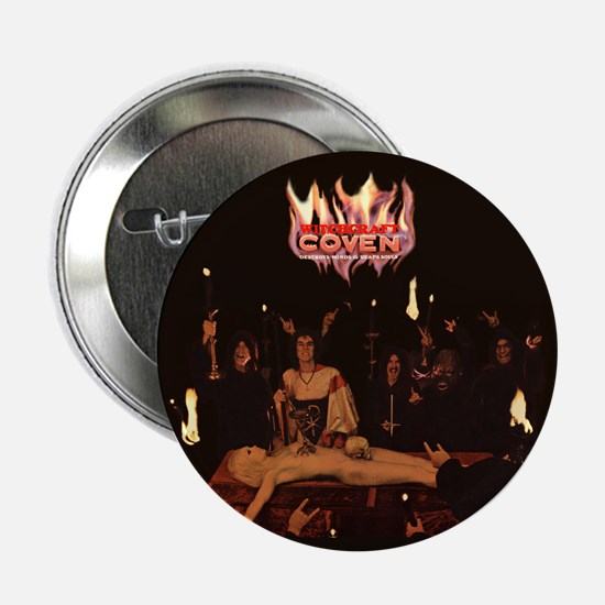 "Coven Satanic Black Mass 2.25"" Button"