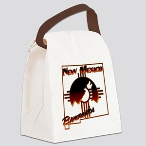 NM Coyote Silhouette Canvas Lunch Bag