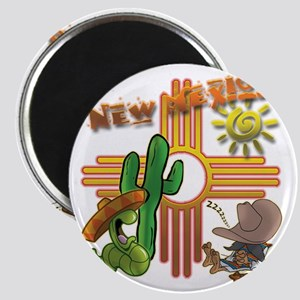 New Mexico Tequila Worm Siesta Magnet