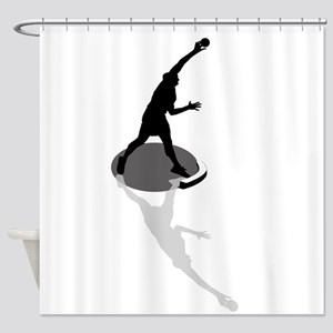 Shot Put Shower Curtain