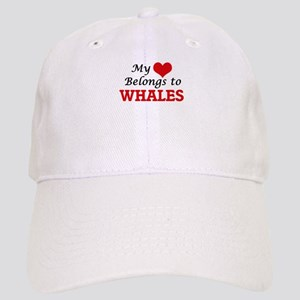 My heart belongs to Whales Cap