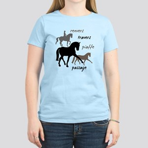 Dressage Movements Trio Women's Light T-Shirt