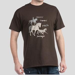 Dressage Movements Trio Dark T-Shirt