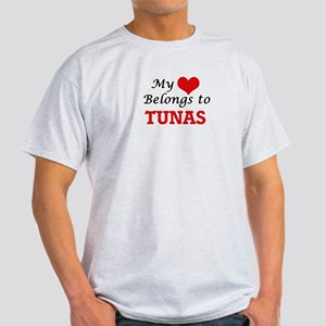 My heart belongs to Tunas T-Shirt