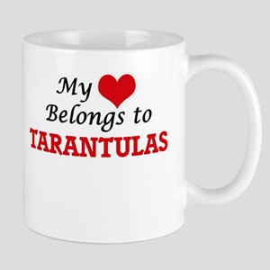 My heart belongs to Tarantulas Mugs