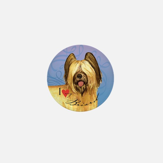Briard Mini Button