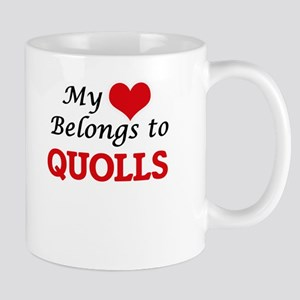 My heart belongs to Quolls Mugs