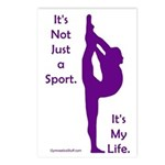 Gymnastics Postcards - Life