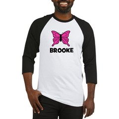 Butterfly - Brooke Baseball Jersey