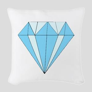 Diamond Dozen Woven Throw Pillow