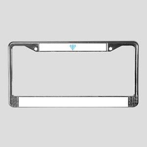 Diamond Dozen License Plate Frame