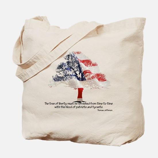 Tree Of Liberty Tote Bag