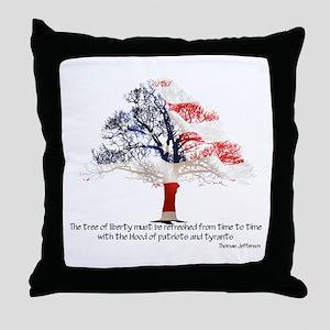 Tree Of Liberty Throw Pillow