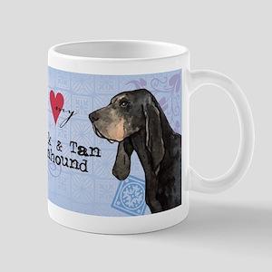Black and Tan Coonhound Mug