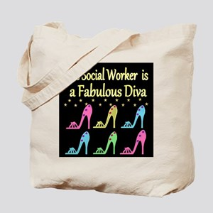 SOCIAL WORK Tote Bag