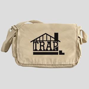 The trap house Messenger Bag