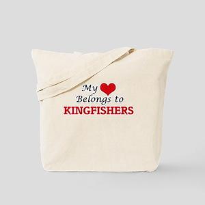 My heart belongs to Kingfishers Tote Bag