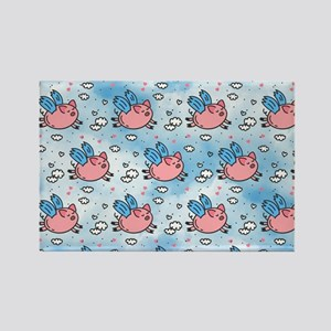 flying pigs Magnets