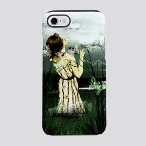Woman With Butterflies iPhone 8/7 Tough Case