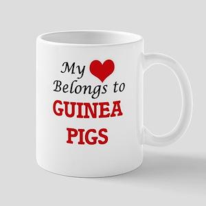 My heart belongs to Guinea Pigs Mugs