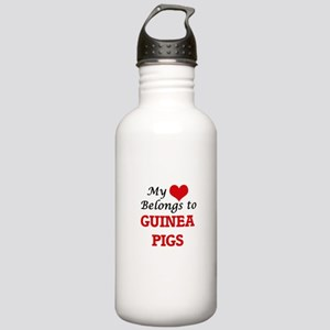 My heart belongs to Gu Stainless Water Bottle 1.0L