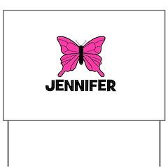 Butterfly - Jennifer Yard Sign