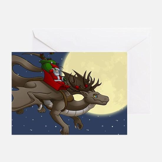 Christmas Dragon Greeting Cards (Pk of 10)