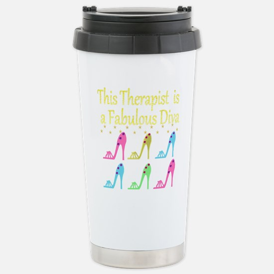 THERAPIST DIVA Stainless Steel Travel Mug