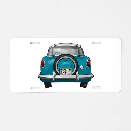 1957 Metropolitan Aluminum License Plate