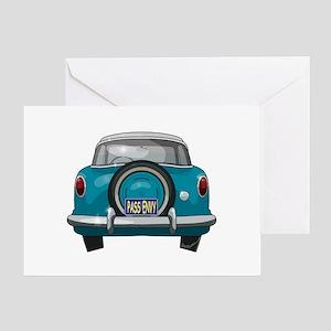 1957 Metropolitan Greeting Card