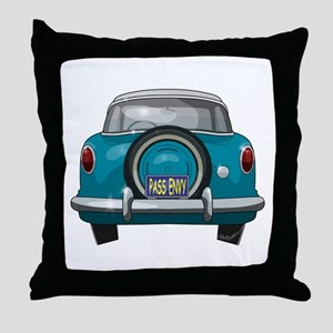 1957 Metropolitan Throw Pillow