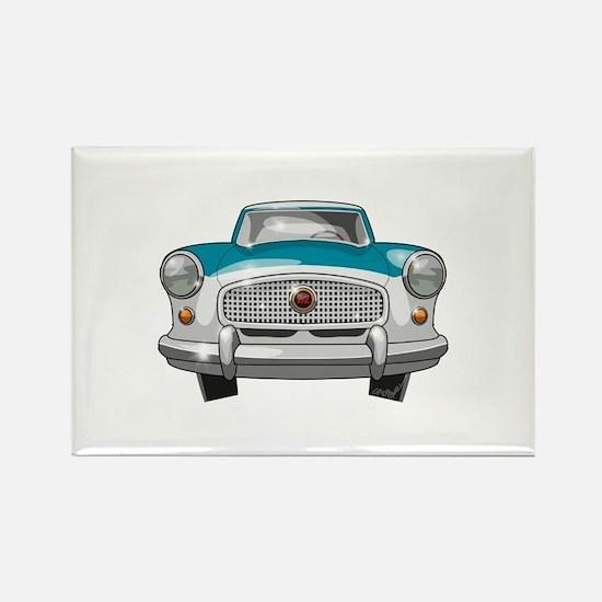 1957 Metropolitan Rectangle Magnet