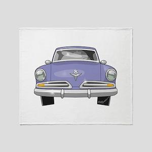 1953 Studebaker Throw Blanket