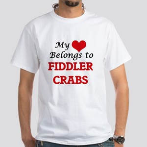 My heart belongs to Fiddler Crabs T-Shirt