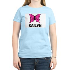 Butterfly - Kailyn Women's Light T-Shirt